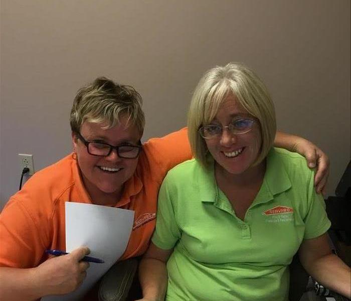 Tracy & Rhonda Working Happy Together